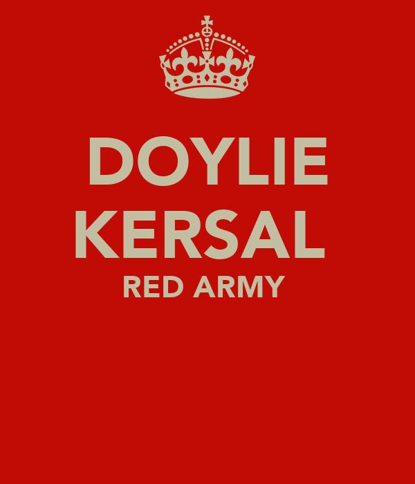 DOYLIE KERSAL  RED ARMY