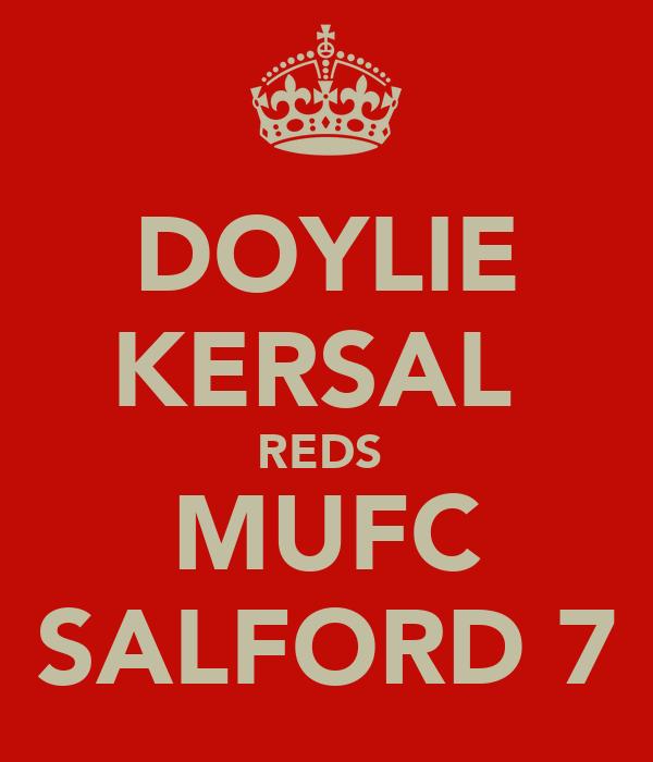 DOYLIE KERSAL  REDS  MUFC SALFORD 7