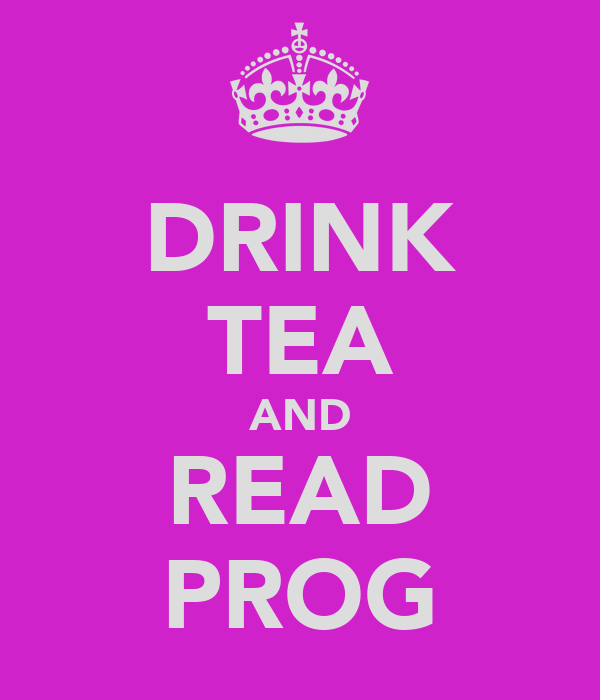 DRINK TEA AND READ PROG