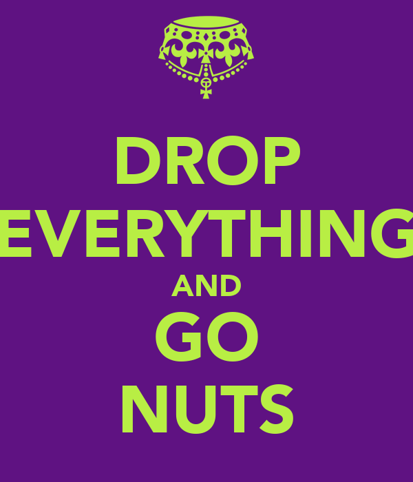 DROP EVERYTHING AND GO NUTS