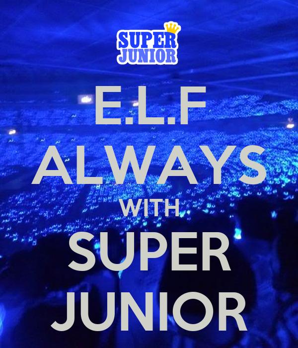 E.L.F ALWAYS WITH SUPER JUNIOR