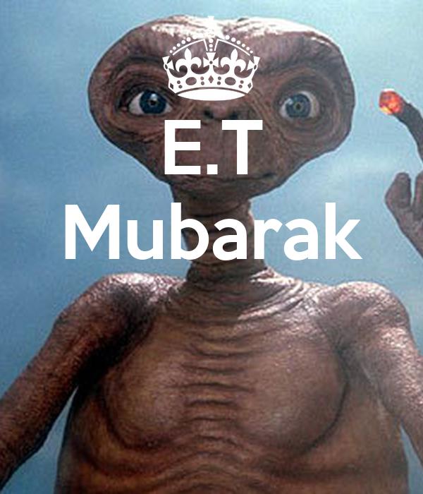 E.T Mubarak