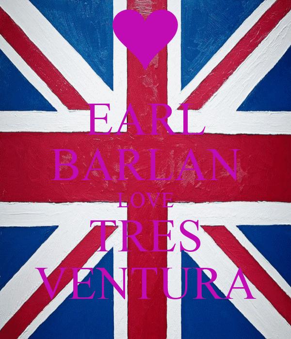 EARL BARLAN LOVE TRES VENTURA