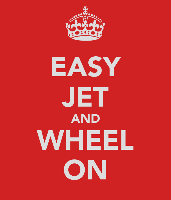 EASY JET AND WHEEL ON