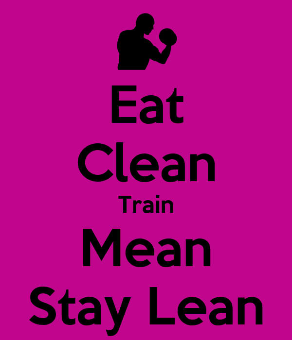 how to eat to stay lean
