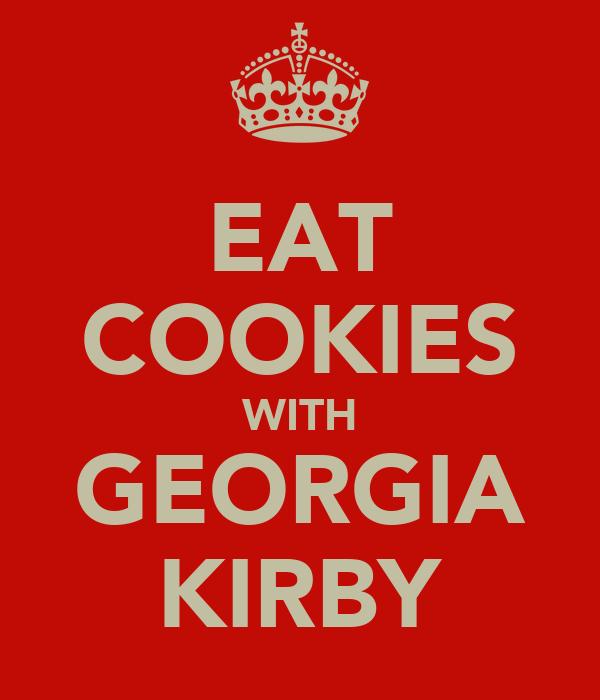 EAT COOKIES WITH GEORGIA KIRBY