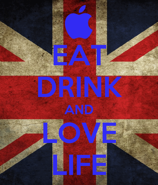 EAT DRINK AND LOVE LIFE