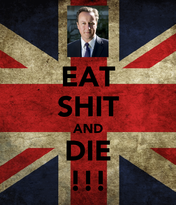 EAT SHIT AND DIE !!!