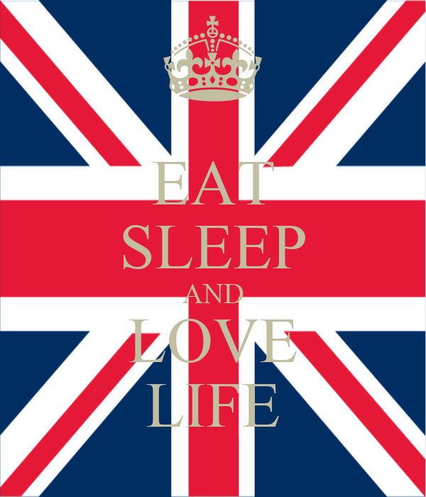 EAT SLEEP AND LOVE LIFE