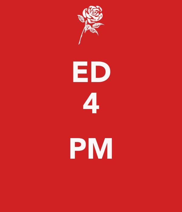 ED 4  PM