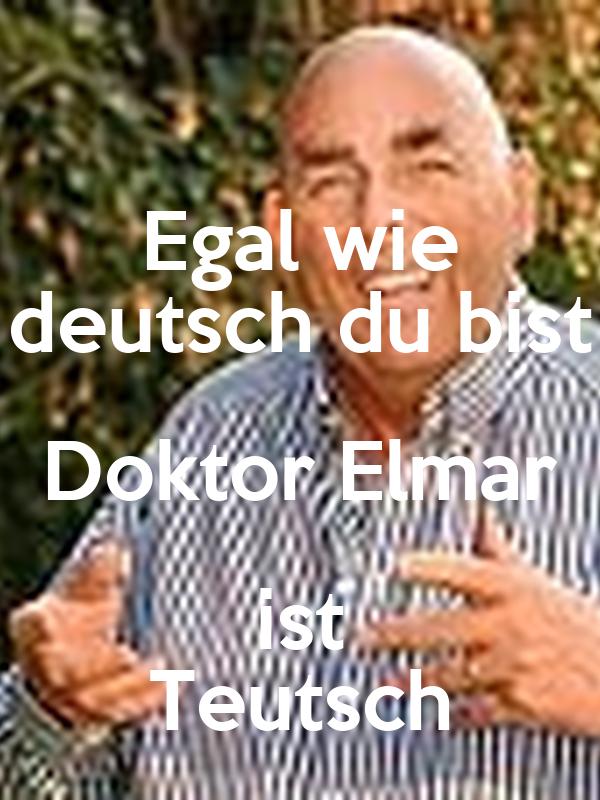 egal deutsch