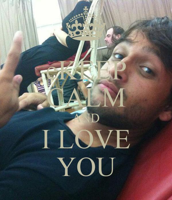 eKEEP CALM AND I LOVE YOU