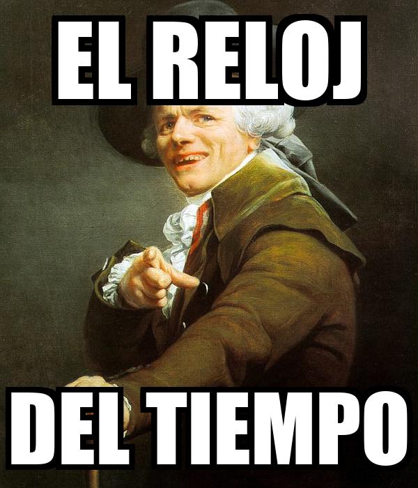 EL RELOJ DEL TIEMPO