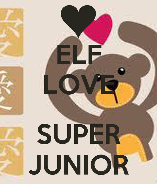 ELF LOVE  SUPER JUNIOR