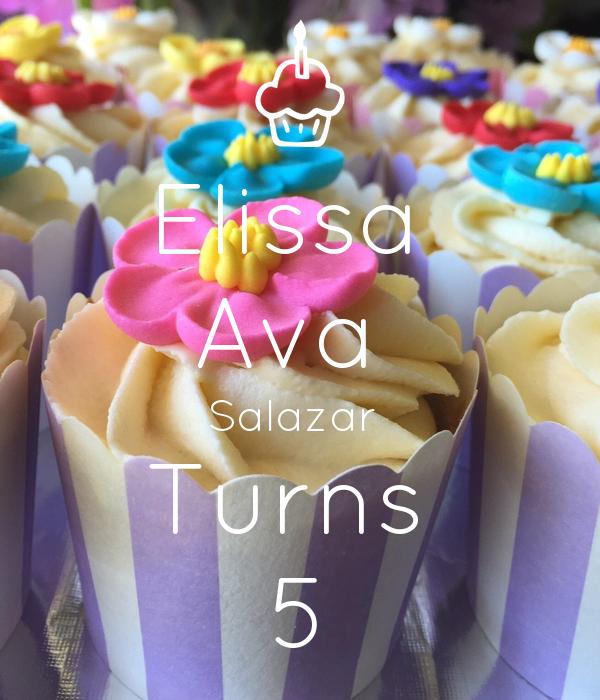 Elissa  Ava  Salazar  Turns  5