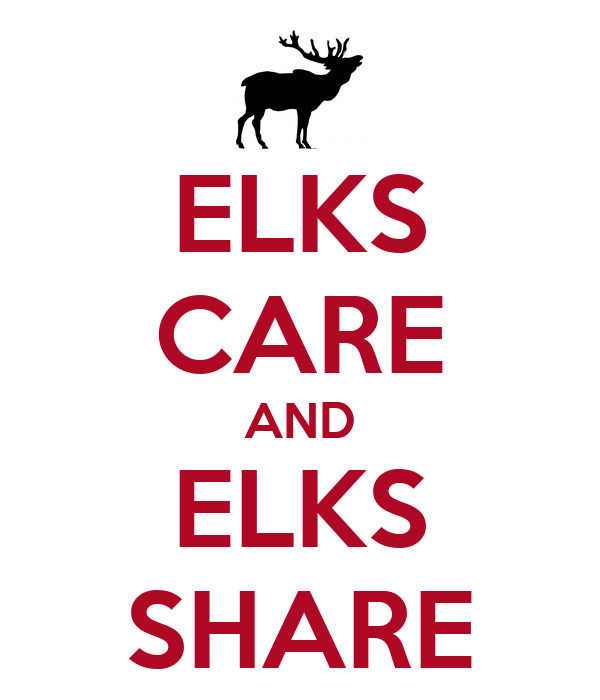 ELKS CARE AND ELKS SHARE