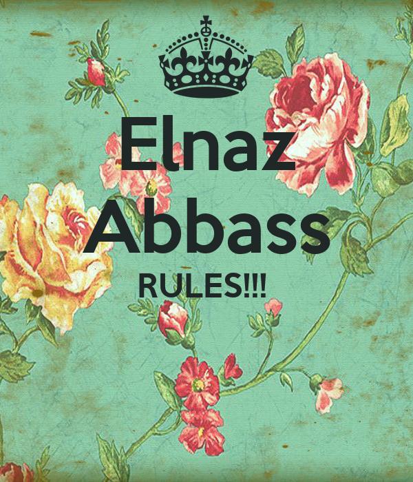 Elnaz Abbass RULES!!!