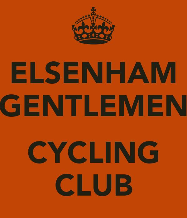 ELSENHAM GENTLEMEN  CYCLING CLUB