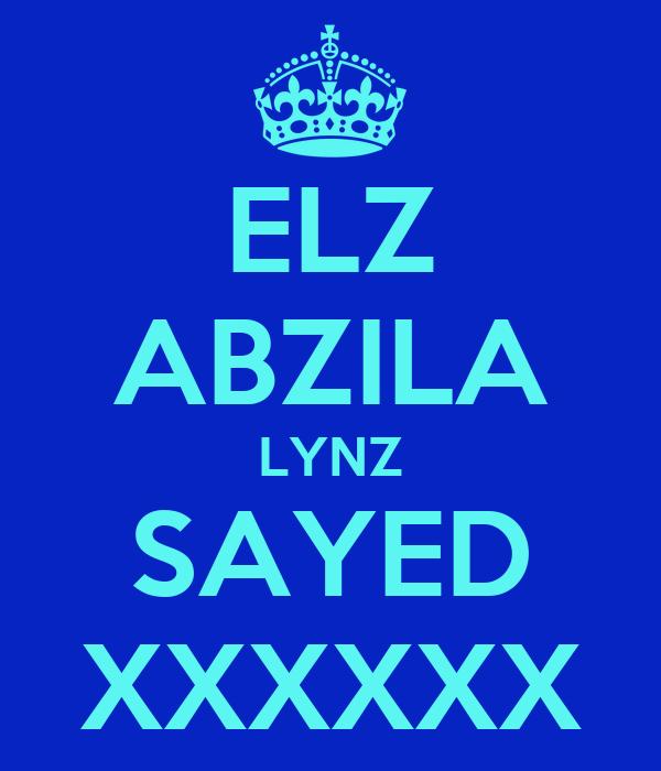 ELZ ABZILA LYNZ SAYED XXXXXX