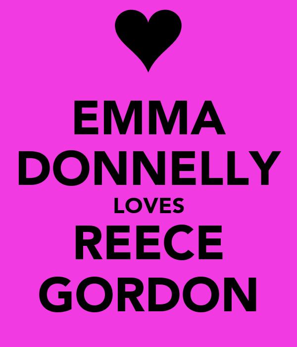 EMMA DONNELLY LOVES REECE GORDON