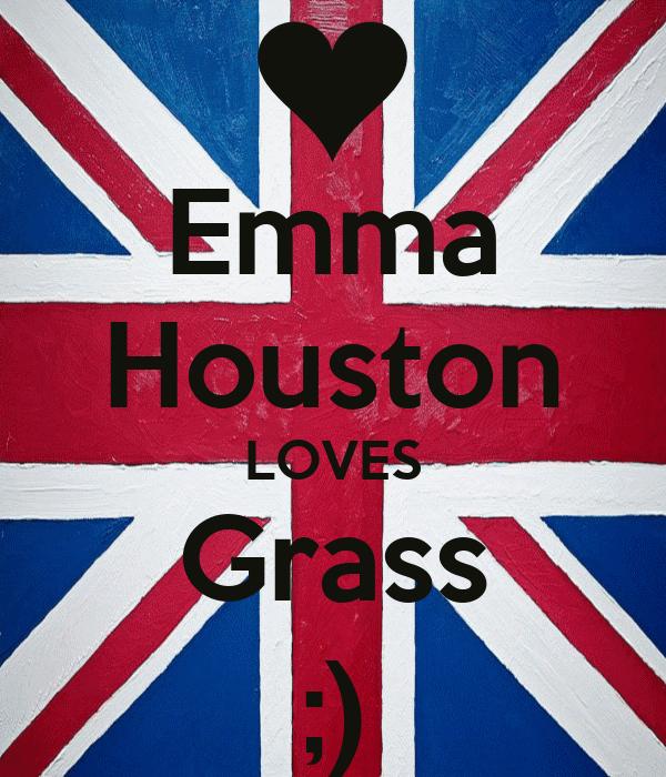 Emma Houston LOVES Grass ;)