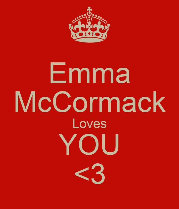 Emma McCormack Loves YOU <3