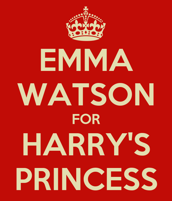 EMMA WATSON FOR HARRY'S PRINCESS