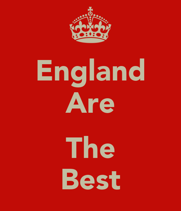 England Are  The Best