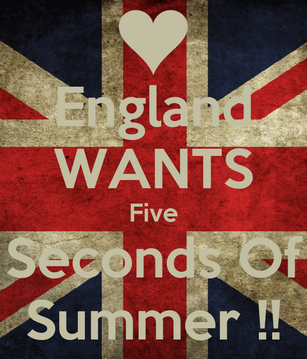 England WANTS Five Seconds Of Summer !!