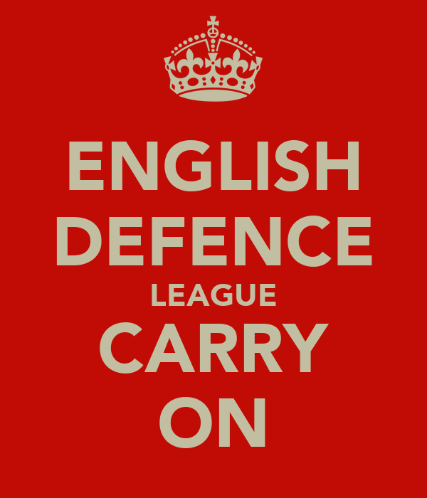ENGLISH DEFENCE LEAGUE CARRY ON