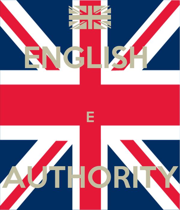 ENGLISH   E  AUTHORITY
