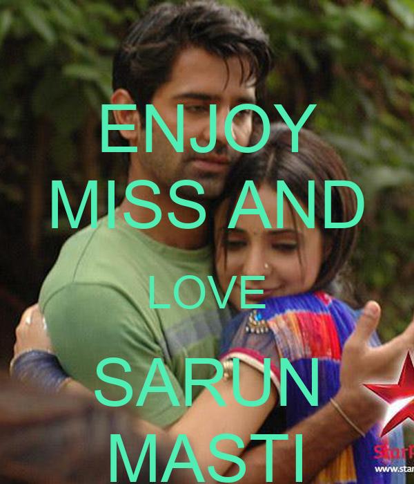 ENJOY MISS AND LOVE SARUN MASTI