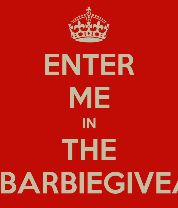 ENTER ME IN THE #MACBARBIEGIVEAWAY
