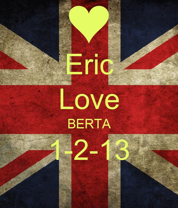 Eric Love BERTA 1-2-13
