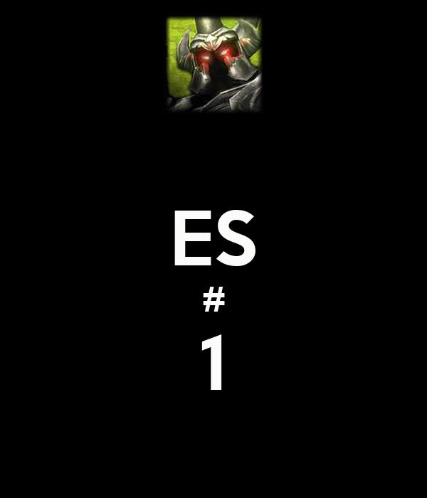 ES # 1