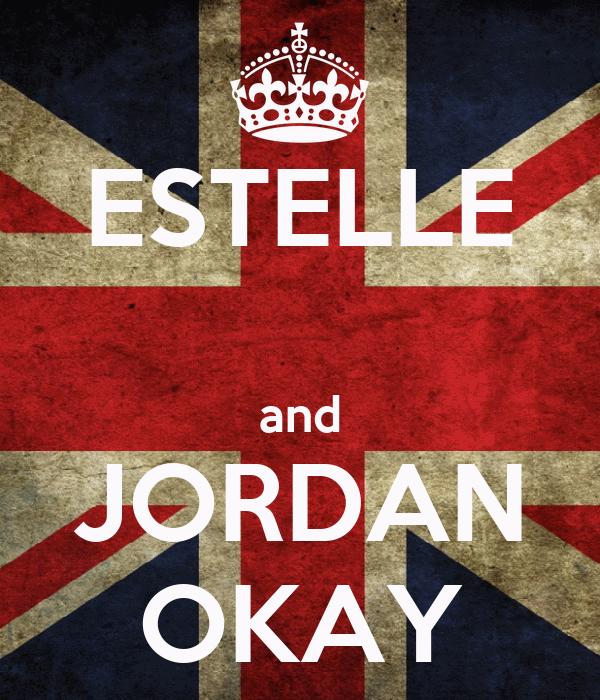 ESTELLE  and JORDAN OKAY