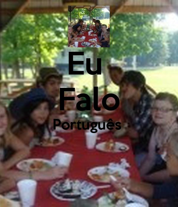 Eu  Falo Português