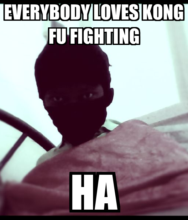 EVERYBODY LOVES KONG FU FIGHTING HA
