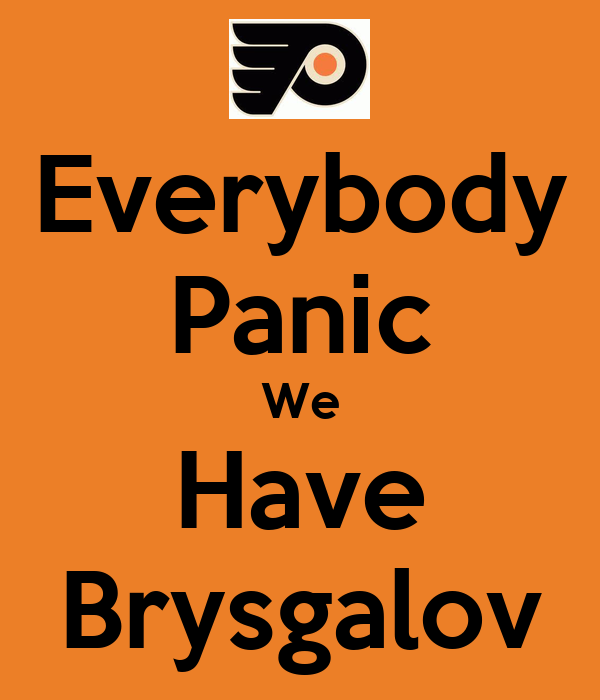 Everybody Panic We Have Brysgalov