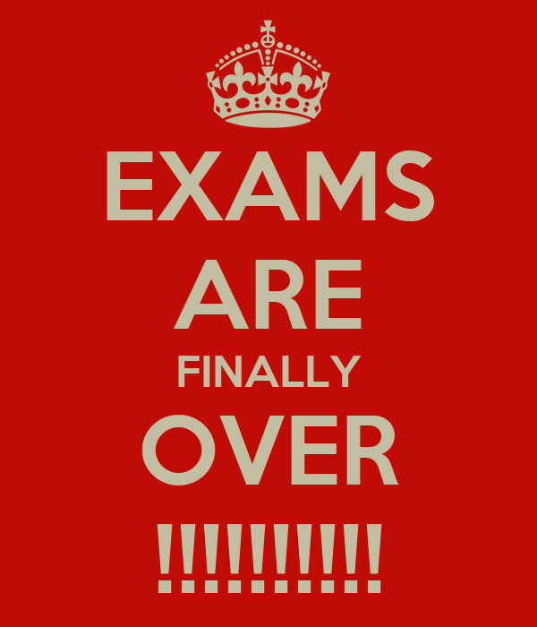 EXAMS ARE FINALLY OVER !!!!!!!!!! Poster | Jodie | Keep ...