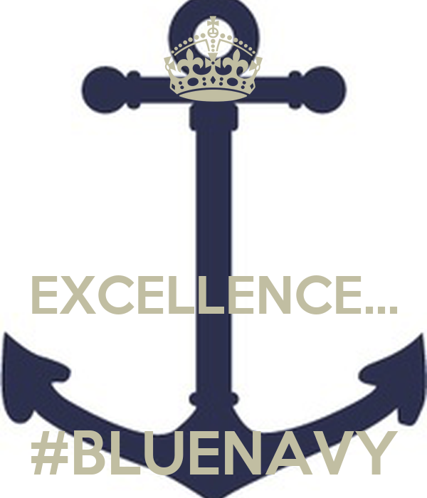 EXCELLENCE...  #BLUENAVY