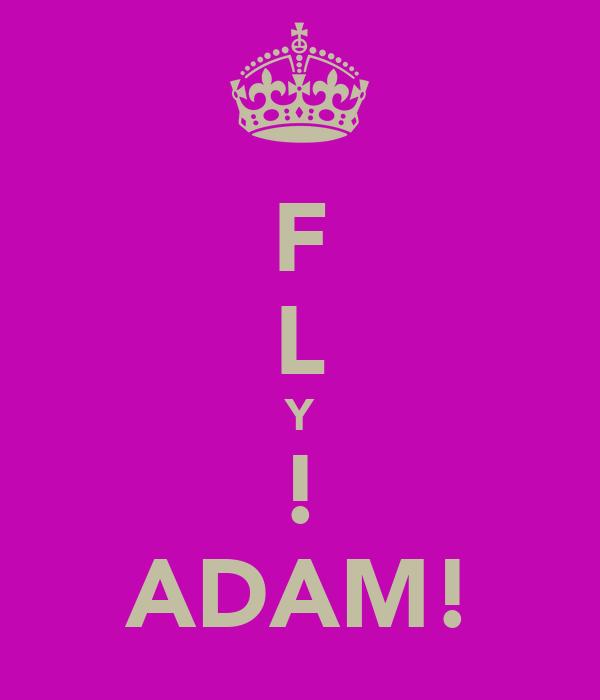 F L Y ! ADAM!