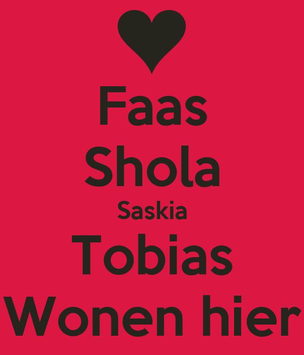 Faas Shola Saskia Tobias Wonen hier