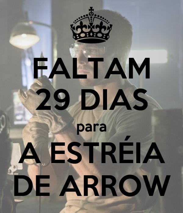 FALTAM 29 DIAS para A ESTRÉIA DE ARROW