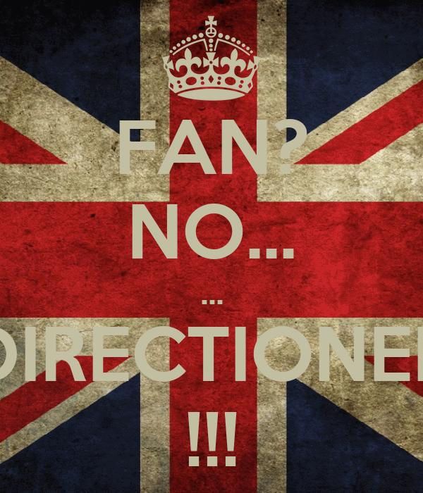 FAN? NO... ... DIRECTIONER !!!