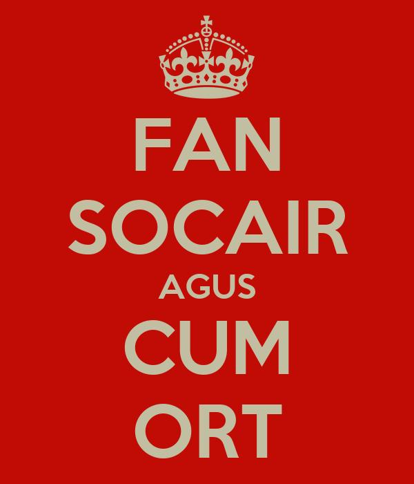 FAN SOCAIR AGUS CUM ORT
