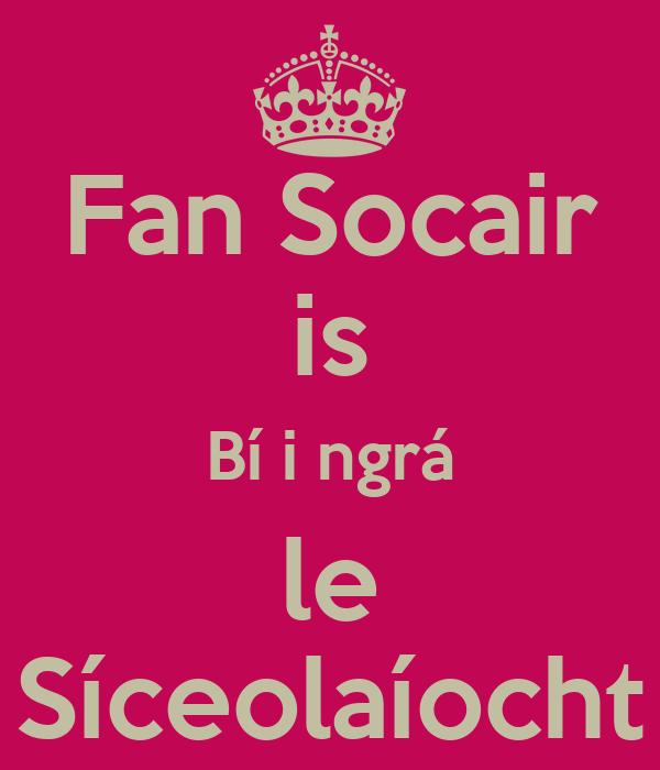 Fan Socair is Bí i ngrá le Síceolaíocht