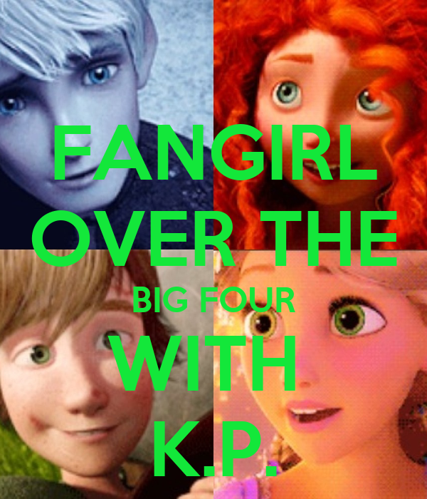 FANGIRL OVER THE BIG FOUR WITH  K.P.