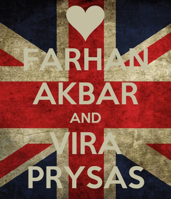 FARHAN AKBAR AND VIRA PRYSAS