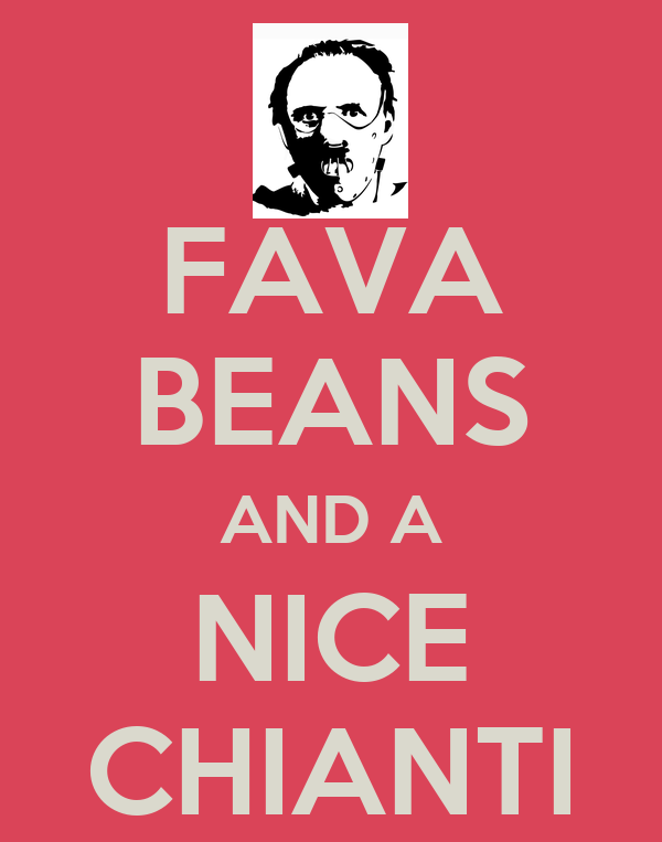 FAVA BEANS AND A NICE CHIANTI